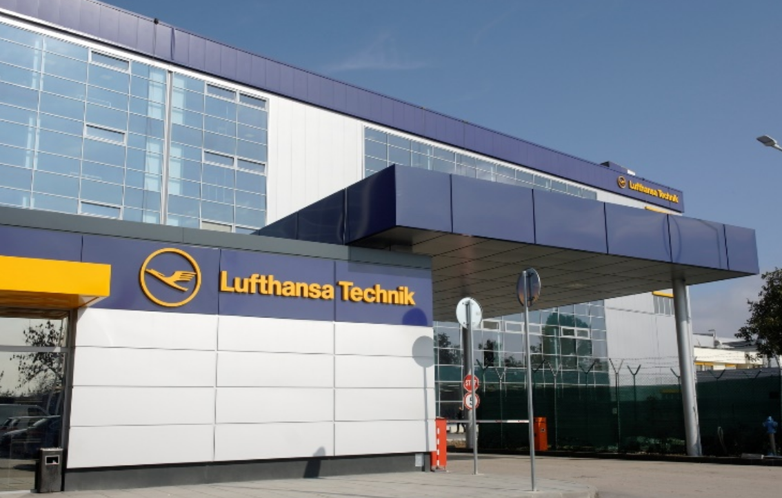 Office building, workshops and hangar Lufthansa, Sofia