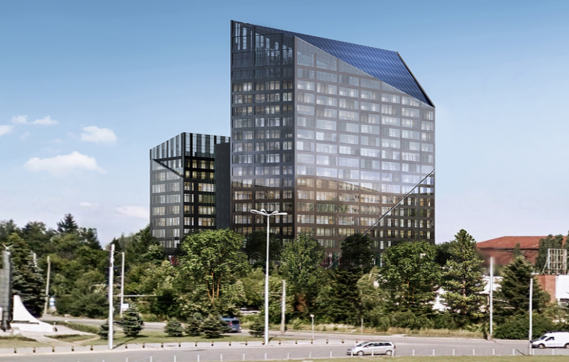 BREF Office building Sofia Tech Park
