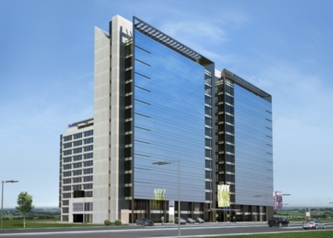 "Office buildings and Hotel Premier Best Western ""Brussels""  Sofia"